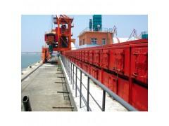 用于港口散装货物的全封闭覆盖式胶带输送机