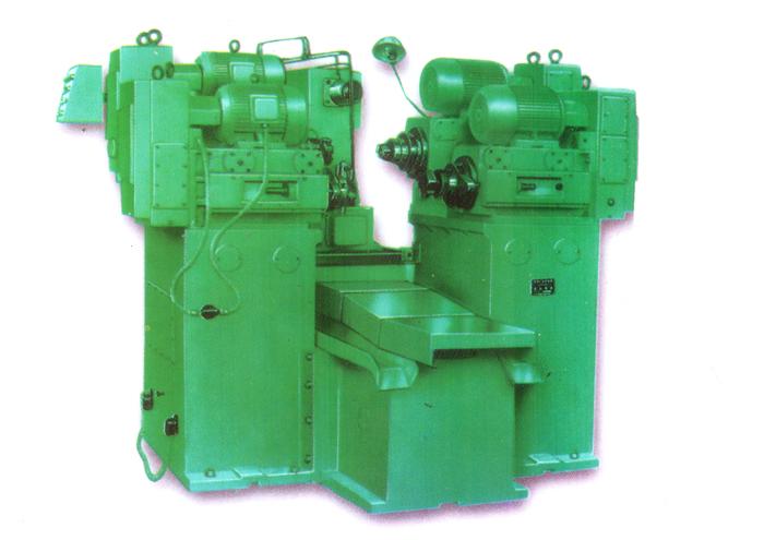 气缸体卧式四轴双面铣削组合机床
