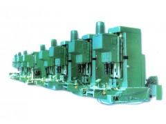 电机壳立式高效单能双工位机床