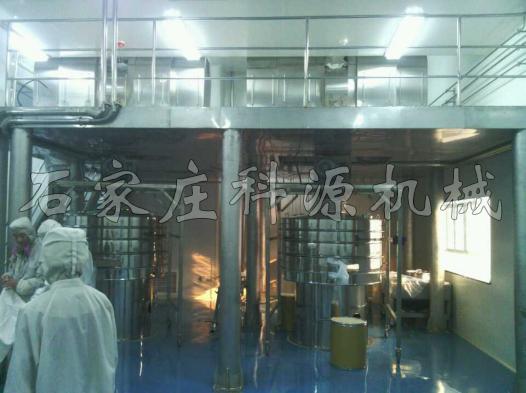 華北制藥集團先泰藥業生產現場