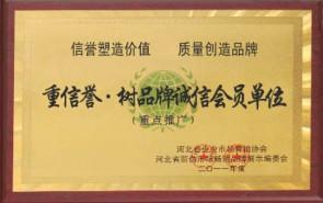 重信誉树品牌诚信会员单位