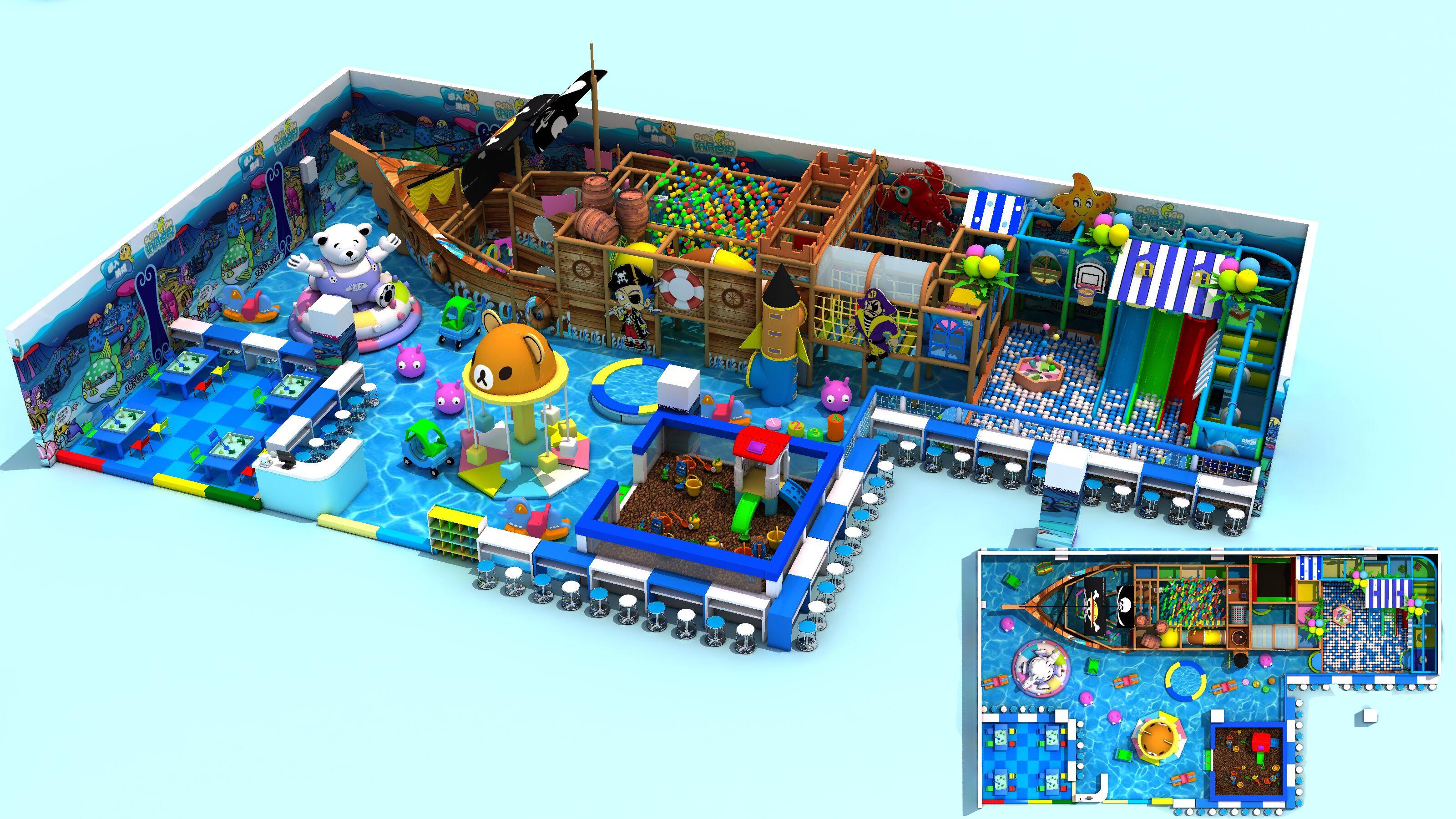 供应石家庄淘气堡儿童乐园室内大型玩具