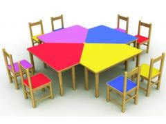 石家庄藁城县幼儿园小床、幼儿园课桌椅