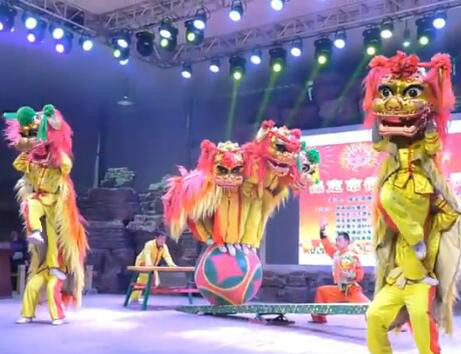舞狮庆周年
