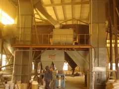 大型预拌砂浆生产线