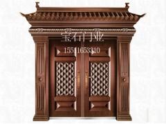 BS-8001仿銅門對開門