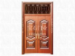 BS-8012仿銅門對開門