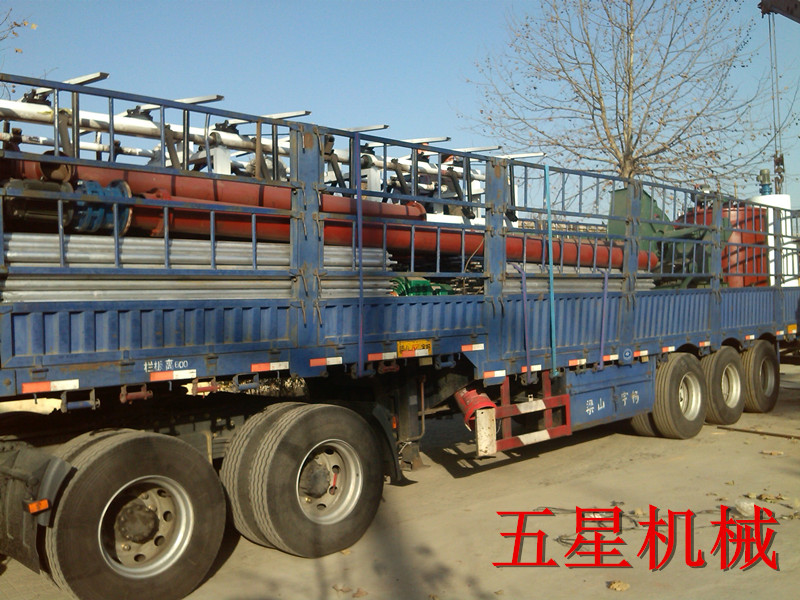 山西客户年产600万平米石膏板生产线设备发货.jpg