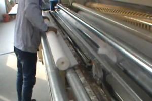 卫生纸加工流水线