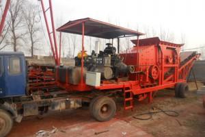 大型移动磨煤机