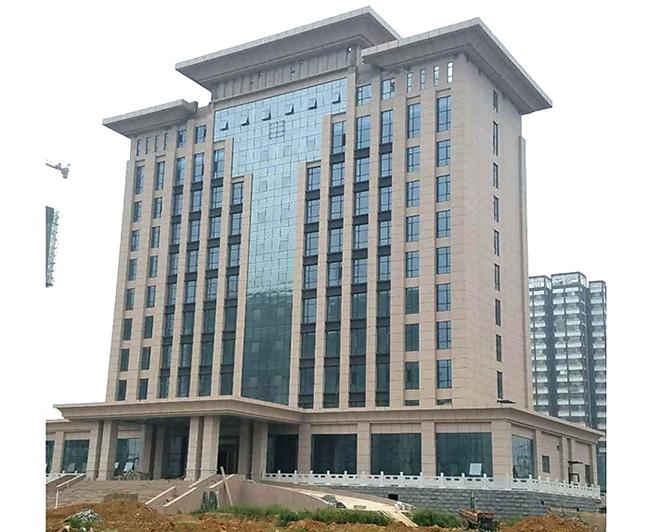 武安市公安局技術用房樓