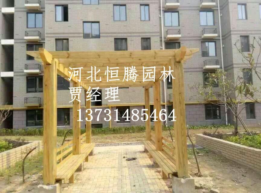 仿木花架制作栏杆施工05.jpg