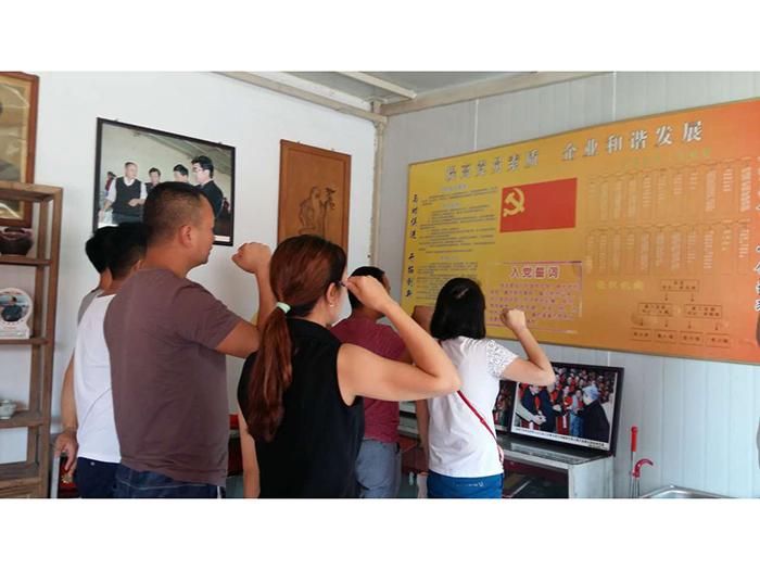 2016年7月3日入党宣誓