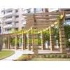 仿木花架制作栏杆施工|物美价廉|水泥制品
