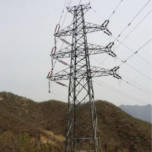 易县易源30MWp光伏发电站110kV架空出线