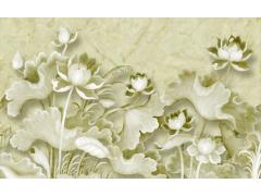 大理石纹理电视背景墙-12330271