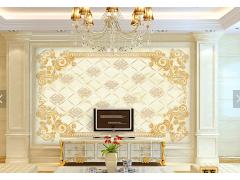 大理石纹理电视背景墙-15446751
