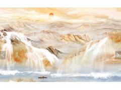 大理石纹理电视背景墙-15866520