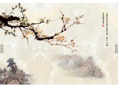 大理石纹理电视背景墙-15941521