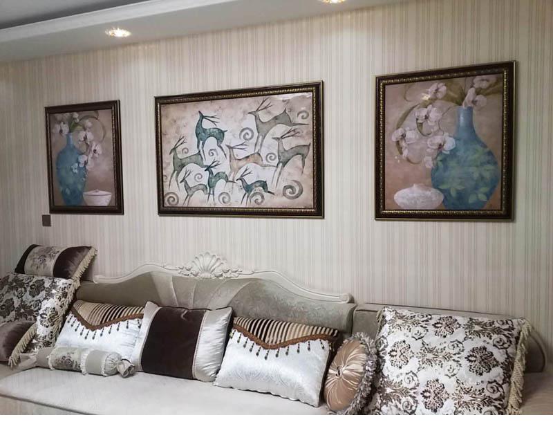 客厅装饰画反馈图