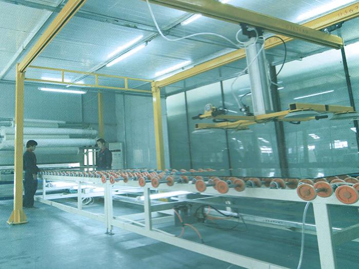 干法夹胶生产线