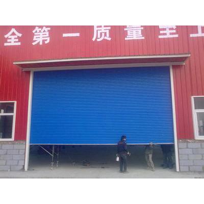 制作安装电动卷帘门