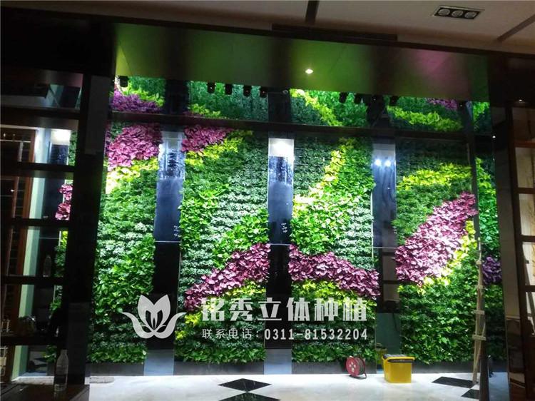 铭秀植物墙案例集-17年 理想城
