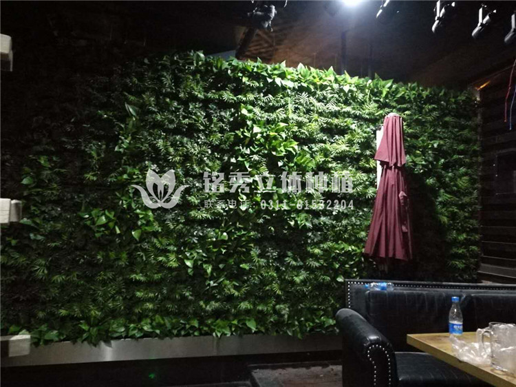 铭秀植物墙案例集-17年 醉梧桐