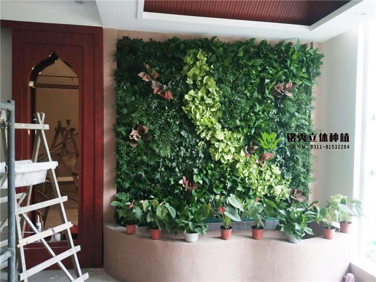 铭秀植物墙案例集-18年 上东国际