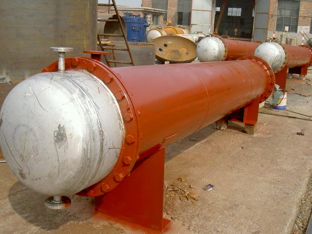 案例 石家庄染料厂   冷凝器