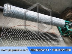 卧式石笼网机