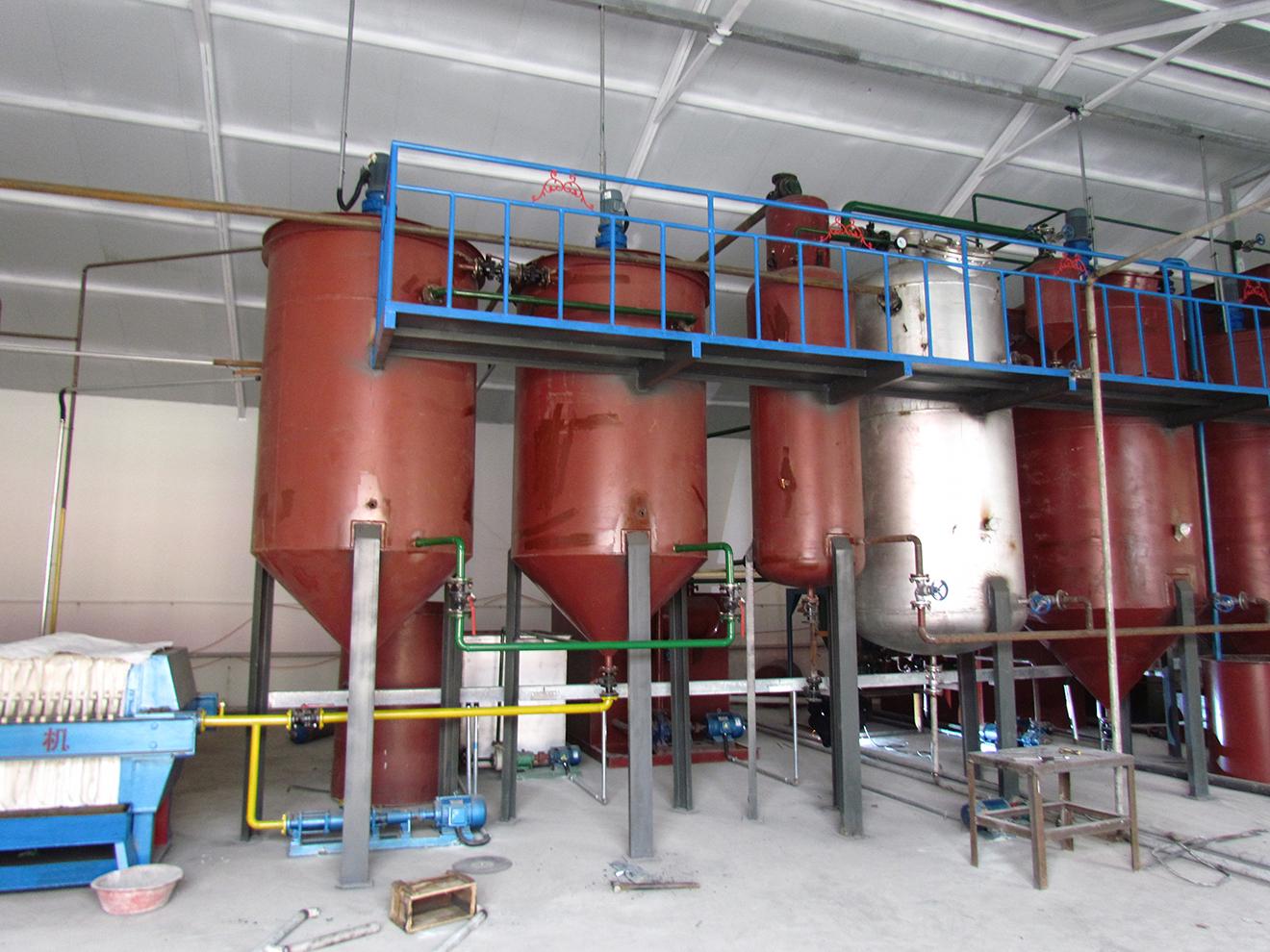 承德盛富 日处理30吨 油葵压榨生产线