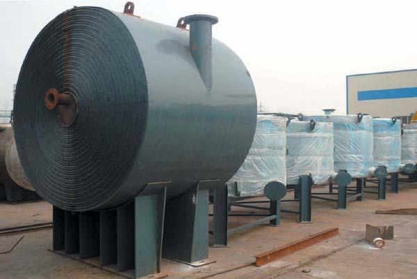 新型节能式螺旋板换热器