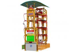 10車位垂直循環立體車庫