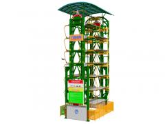 14車位垂直循環式立體車庫