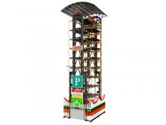 20車位垂直循環立體車庫
