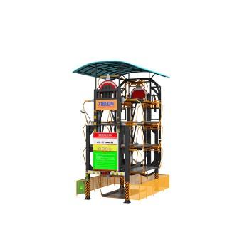 5—7车位多功能小库型垂直循环立体车库