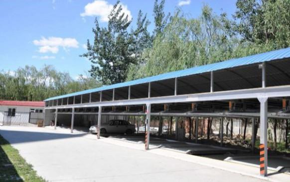 立體停車設備工程案例