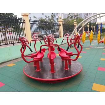 石家庄幼儿园户外设备 儿童转椅