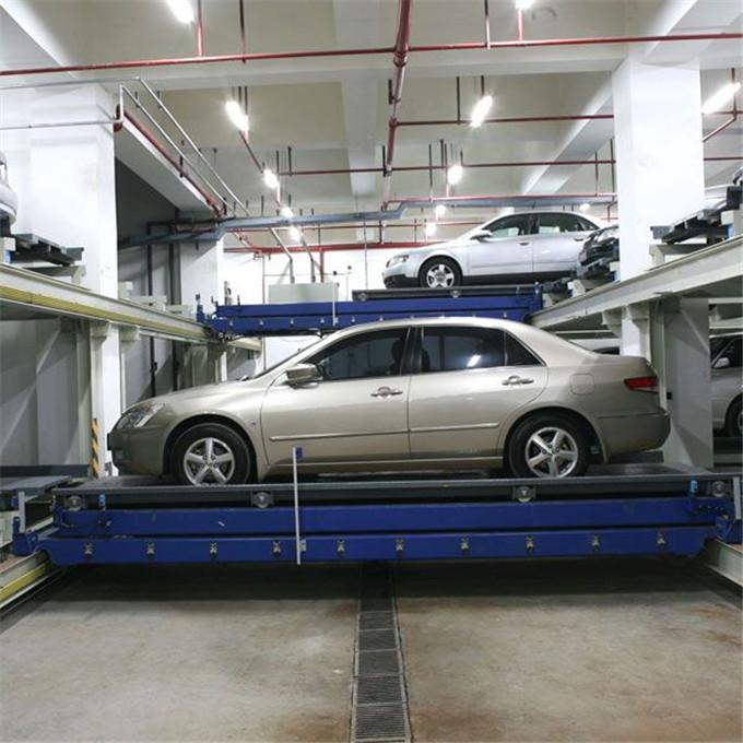 立體車庫的原理及特點