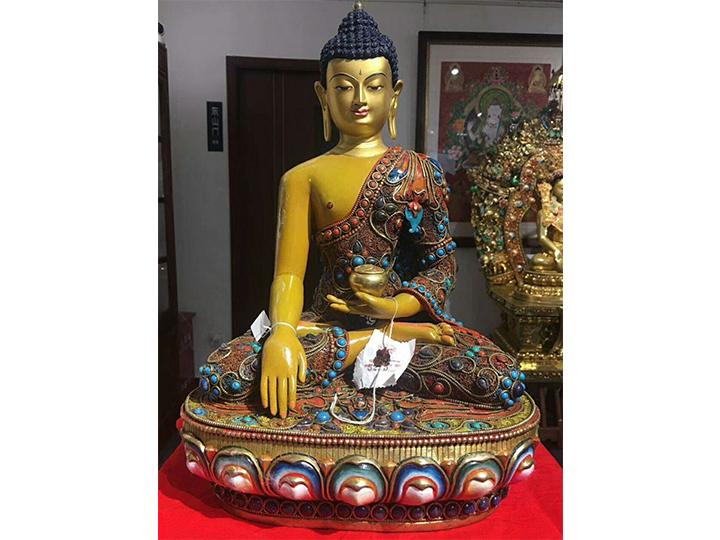 铜佛像藏传佛像