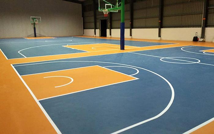 焦作市长风篮球馆