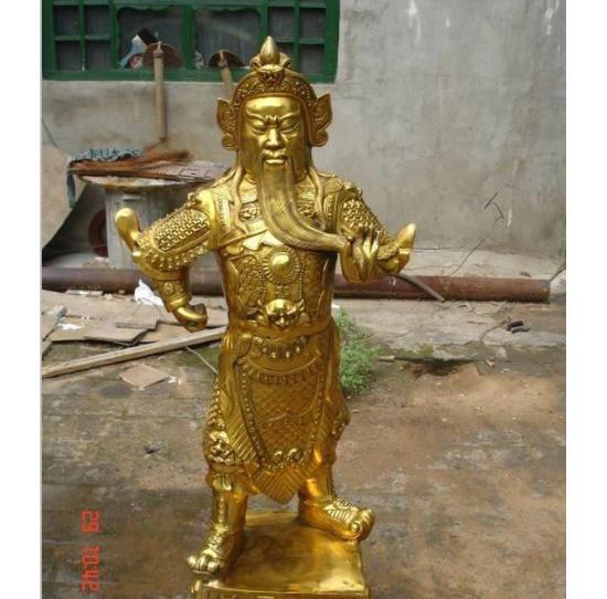 金铜佛像财神铜雕佛像