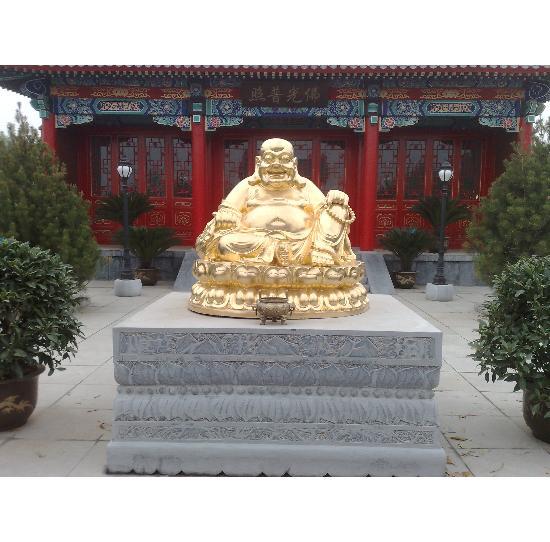 弥勒佛--铜佛像