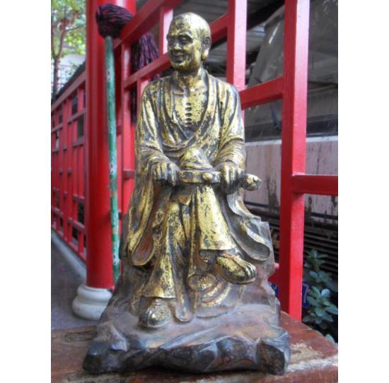 十八罗汉铸铜佛像