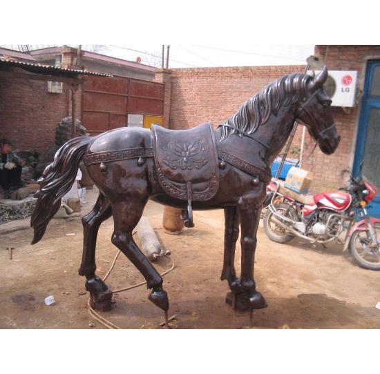 铸铜铜马动物铸造