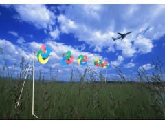 驱鸟彩色风轮