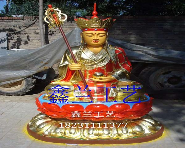 地藏王菩萨金铜佛像