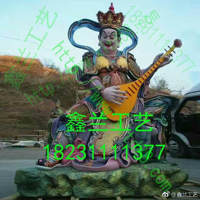 四大天王佛教四大天王铜像供奉意义唐县鑫兰工艺品厂铜雕佛像