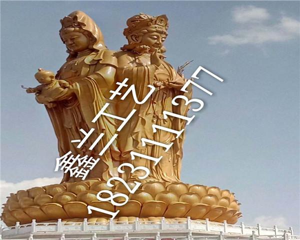 观音菩萨——铜雕佛像玻璃钢雕塑